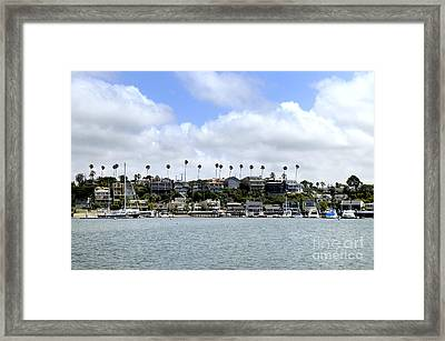 Newport Beach  Framed Print by Timothy OLeary
