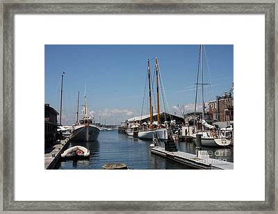 Newport - Rhode Island Framed Print by Christiane Schulze Art And Photography