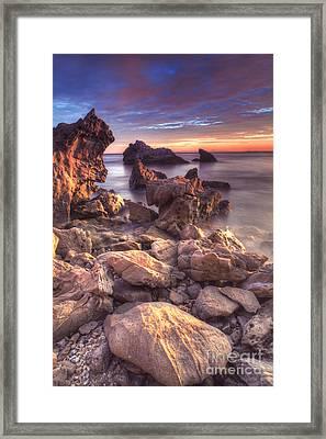 Newport Vista Framed Print by Marco Crupi