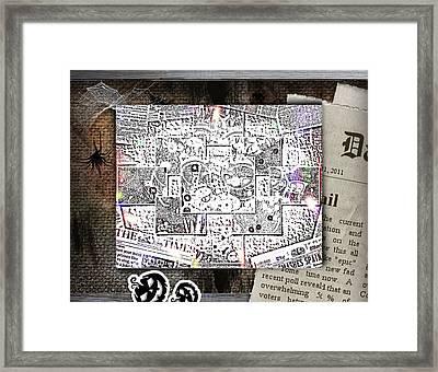 News Framed Print by HollyWood Creation By linda zanini