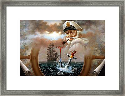 Imperishable Map Captain 2 Framed Print