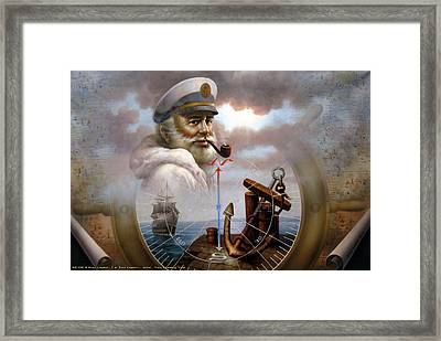 Imperishable Map Captain 7 Framed Print
