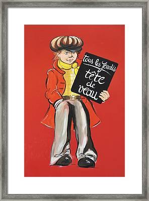 Newsboy Framed Print