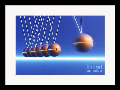 Energy Balls Framed Prints