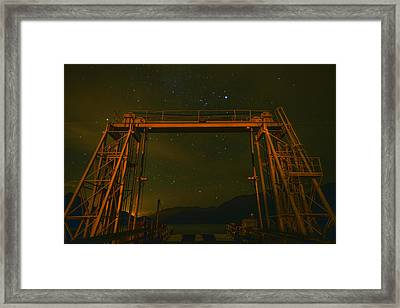 Next Destination Mars At Porteau Cove Provincial Park Bc Framed Print
