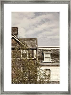 Next Door Neighbors Framed Print