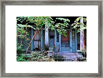 Next Door To Aunt Agnes Framed Print by Patricia Greer