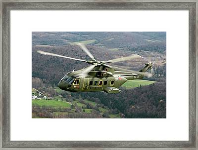 Next Generation Presidential Helicopter Framed Print by Lockheed Martin