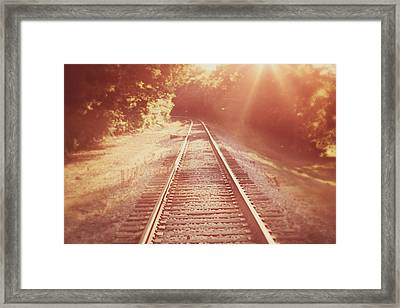 Next Stop Home Framed Print by Amy Tyler
