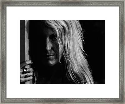 Next To You Framed Print by  Kelly Hayner