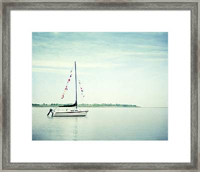 Next Voyage Framed Print by Carolyn Cochrane