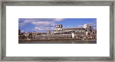 Neyland Stadium In Knoxville Framed Print