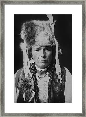 Nez Perce Indian Circa 1904 Framed Print by Aged Pixel