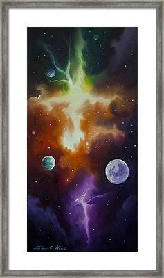 Ngc 1030 Framed Print by James Christopher Hill