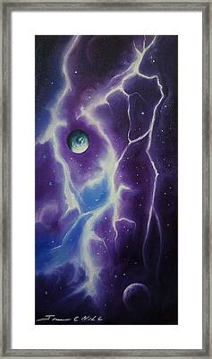 Ngc 1034 Framed Print by James Christopher Hill