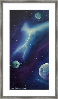Ngc 1035 Framed Print by James Christopher Hill