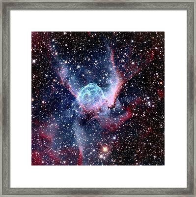 Ngc 2359 Nebular Framed Print