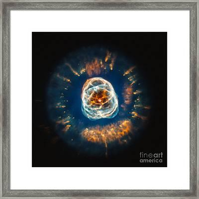 Ngc 2392, Eskimo Nebula, Optical Framed Print by Science Source