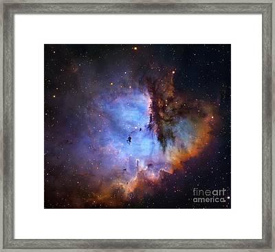Ngc 281 Starbirth Region, Optical Image Framed Print by Robert Gendler