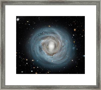 Ngc 4921 Spiral Galaxy Framed Print by Hubble Legacy Archive, Esa, Nasa