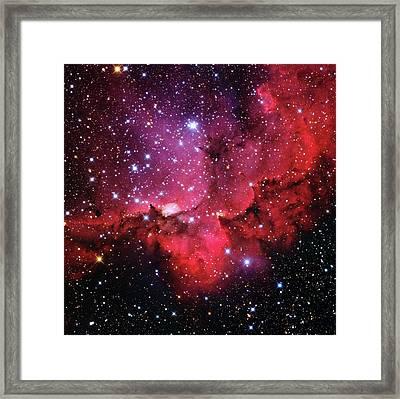 Ngc 7380 Star Cluster Framed Print by Adam Block/mount Lemmon Skycenter/university Of Arizona