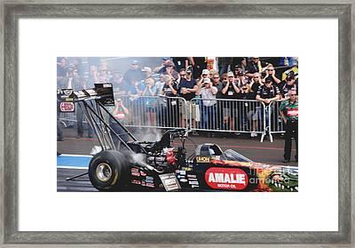 Nhra Top Fuel Dragster Framed Print