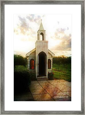 Niagara Church Framed Print by Scott Pellegrin