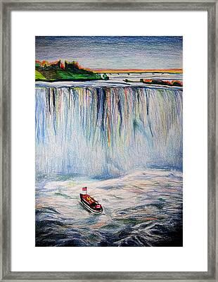 Niagara Falls Framed Print by Daniel Janda