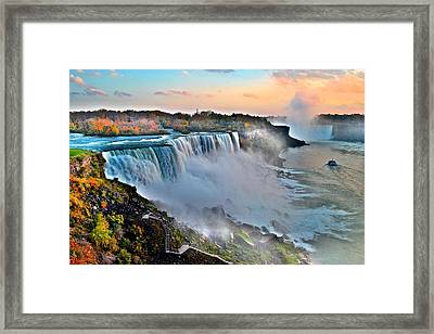 Niagara Falls Framed Print by Frozen in Time Fine Art Photography