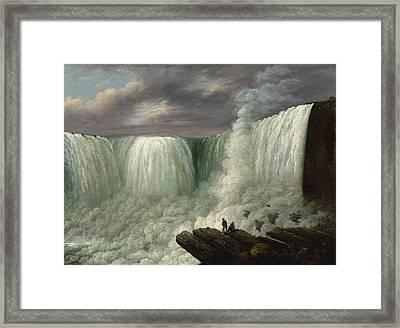 Niagara Falls Framed Print by Joseph Otis Minott