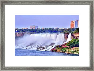 Niagara Falls Framed Print by Kathleen Struckle