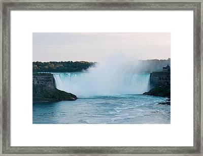 Framed Print featuring the photograph Niagara Falls by Marek Poplawski