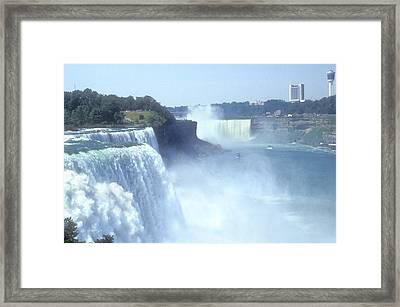 Niagara Falls - New York Framed Print by Mike McGlothlen
