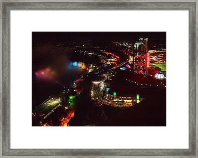 Niagara Falls Overview Framed Print by Robert Watcher