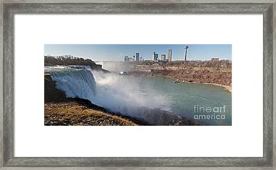 Niagara Falls Panorama Framed Print