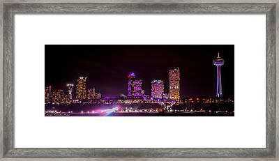 Niagara Falls Skyline Framed Print