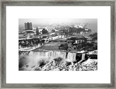 Niagara Falls Framed Print by Snow  White