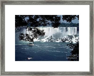 Framed Print featuring the photograph Niagara Falls by Tom Brickhouse