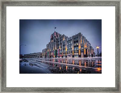 Niagara Mohawk Syracuse Framed Print by Everet Regal