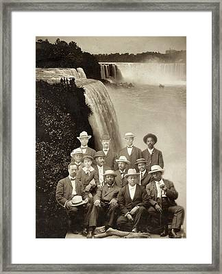 Niagara Movement, 1905 Framed Print by Granger