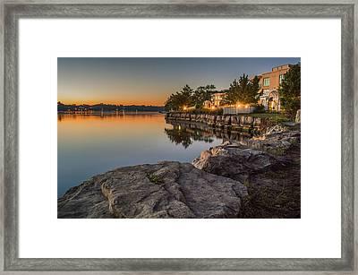 Niagara On The Lake  Framed Print