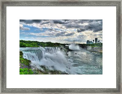 Niagara River Gorge 2 Framed Print