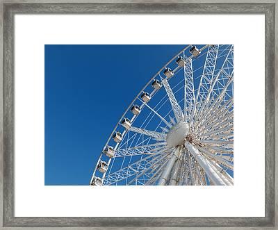 Niagara Sky Wheel Framed Print
