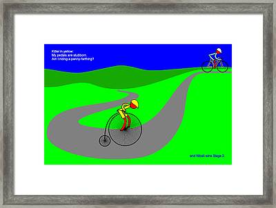 Nibali Wins Stage 2 Framed Print