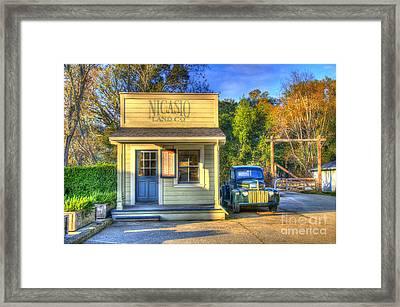 Nicasio Land Company Framed Print
