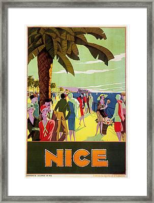 Nice 1926 Framed Print