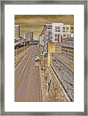 Nice Glass Framed Print by Chris Anderson