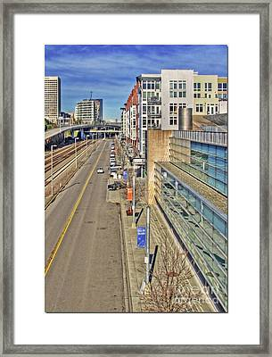 Nice Glass - Color Framed Print by Chris Anderson