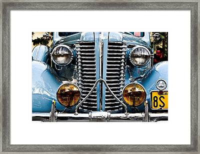 Nice Headlights Framed Print by Merrick Imagery
