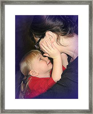 Nice Mommy Framed Print by Shirley Sirois